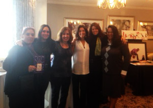 Left to right: PCF Boutique Chair, Susan Barragan, (Mamaroneck, NY), PCF Boutique Chair, Robin Gensburg (Larchmont, NY), PCF Boutique Chair and PCF Board Member, Karen Klein (Scarsdale, NY), PCF President, Cheryl Rosen (Scarsdale, NY), Debra Zeplin, PCF Boutique Chair and PCF Board Member, (Purchase, NY) , Judith A. Elkins, PCF Boutique Chair, PCF Medical Liaison, (Scarsdale, NY)