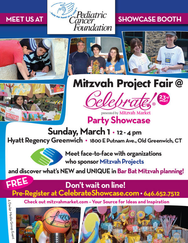 Pediatric Cancer Foundation Mitzvah Project