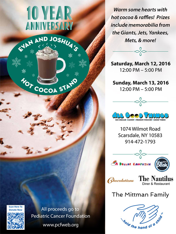 PCF's Hot Cocoa Stand 2016