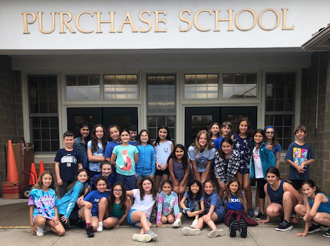Purchase Elementary School Caring Kids Club Wear Blue Day